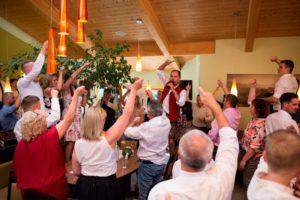 Band für Hochzeit, brautsthlen