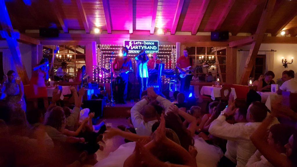 hochzeitsfeier in oberbayern, tolle party